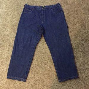 Redhead Fleece Lined Jeans Sz 44 Inseam 32